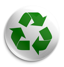 Recyle logo, we build green.